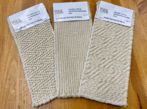 Organic Cotton Flatweave swatches