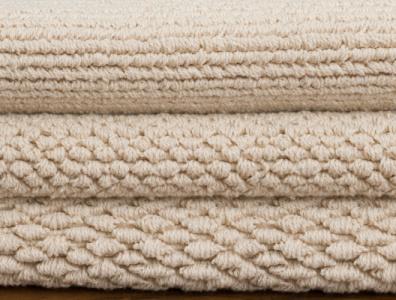 Organic Cotton Loom-Hooked Flatweave Rugs