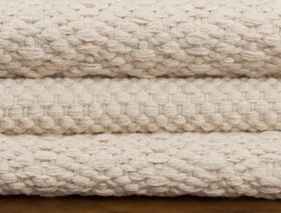 Hook & Loom Organic Cotton Flatweave Rugs