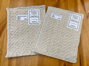 Organic Cotton Thick Woven swatches