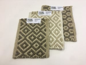 Natural Undyed Supple Wool Rug Swatches